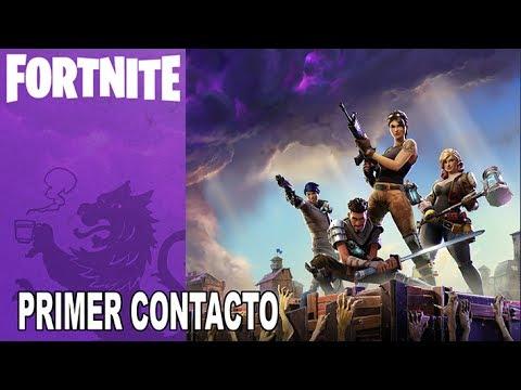 FORTNITE   Primer contacto   Gameplay español