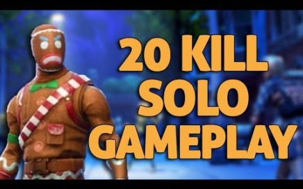 20 Kill Gameplay - Fortnite Solo Gameplay - Ninja