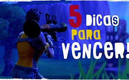 5 DICAS PARA VENCER NO FORTNITE!