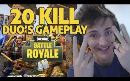 Amazing 20 Kill Duo's Gameplay!! Fortnite Gameplay - Ninja