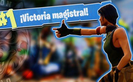 APRENDIENDO A JUGAR Y VICTORIA!! - Fortnite Battle Royale Español