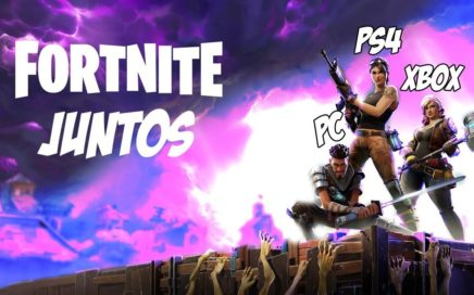 COMO JUGAR FORTNITE ENTRE DIFERENTES PLATAFORMAS!! XBOX-PS4-PC