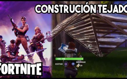 ¡CONSEJOS DE CONSTRUCCIÓN: TEJADO! | TUTORIAL FORTNITE
