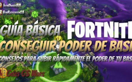 Consejos para Aumentar el Poder de la Base FORTNITE | 4 ESTRATEGIAS CLAVE
