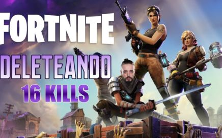 DELETEANDO - FORTNITE - 16 Kills SOLO Battle Royale