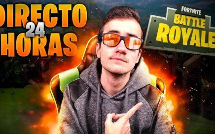 DIRECTO ESPECIAL 24 HORAS!! JUGANDO FORTNITE Y MAS!! (PARTE 2)