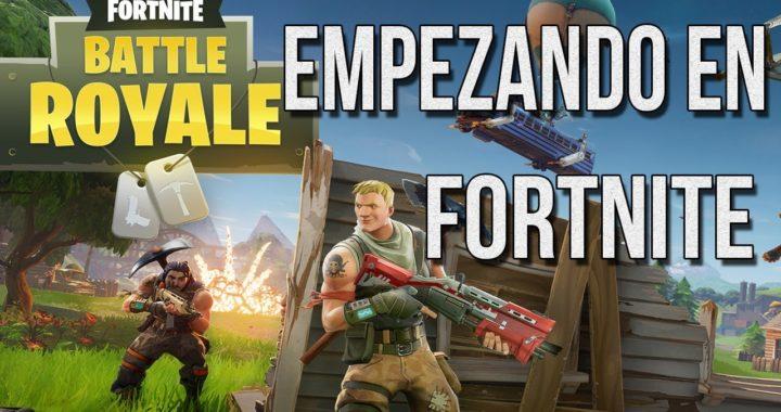 EMPEZANDO AL FORTNITE | FORTNITE Gameplay Español / Spanish