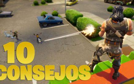 FORTNITE | 10 CONSEJOS PARA SER PRO | OB2CUR3