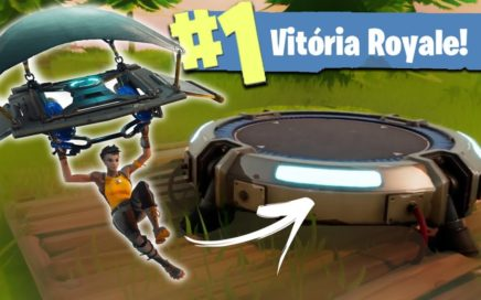 FORTNITE - A ESTRATÉGIA DO LAUNCH PAD