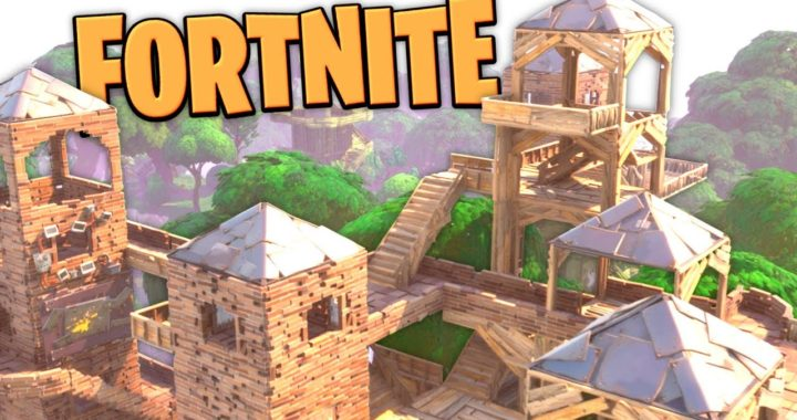 Fortnite - Base Building and Zombie Smashing! -  Fortnite Gameplay