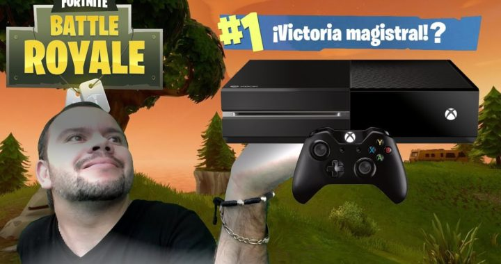 fortnite BATTLE ROYALE, JUGANDO EN XBOX ONE POR PRIMERA VEZ, VICTORIA ROYAL, GAMEPLAY ESPAÑOL-