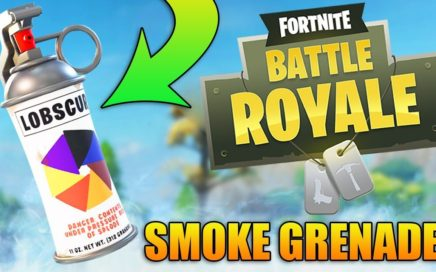 Fortnite Battle Royale: NEW UPDATE! - SMOKE GRENADES - Fortnite Battle Royale Gameplay - (PS4 PRO)