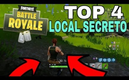 FORTNITE BATTLE ROYALE - TOP 4 LOCAL SECRETO NO FORTNITE PS4/XBOX ONE/PC