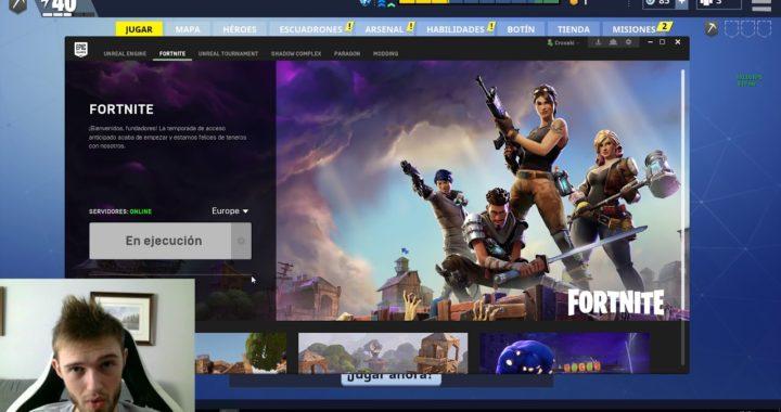 Fortnite en Español - COMO JUGAR DESDE PS4 CON PC y viceversa!