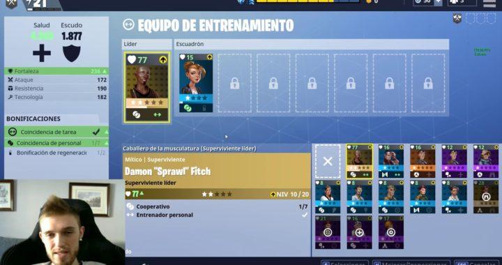 Fortnite en Español - Guia 4, Supervivientes y Energia!