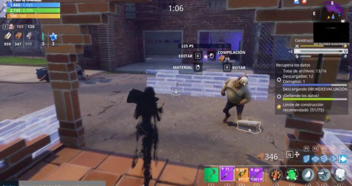 Fortnite Gameplay la mejor ninja toque de la muerte mari en accion