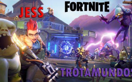 FORTNITE: Jess la Trotamundos | Gameplay Español