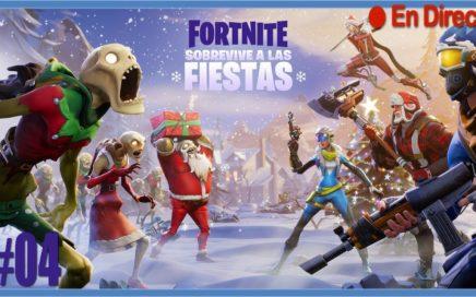 Fortnite | supervivencia navideña | #04 | en Directo