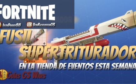 Fusil Tirador SUPERTRITURADOR | Esquema Legendario Tienda Evento FORTNITE
