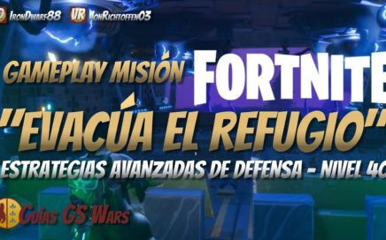 "Gameplay ""Evacúa el Refugio"" en FORTNITE 