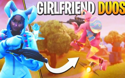 GIRLFRIEND DUOS! - Fortnite Girlfriend Duos Gameplay!