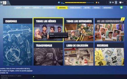 Guia del Arsenal-en fortnite español