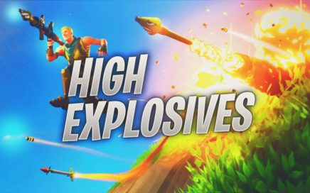HIGH EXPLOSIVES GAMEPLAY AND MORE - VENDING MACHINE GAMEPLAY - FORTNITE BATTLE ROYALE