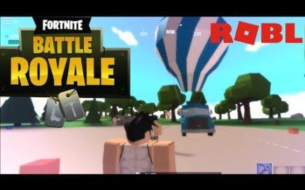 Jugando Fortnite Para Roblox | Island Royale