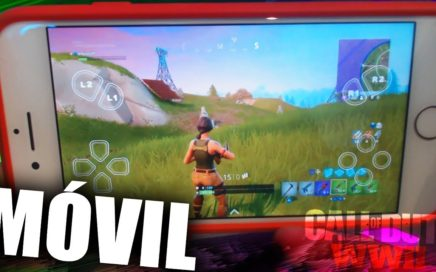 Jugando FORTNITE y WW2 en el MÓVIL! Battle Royale + Call of Duty WWII! #2 - Infuser