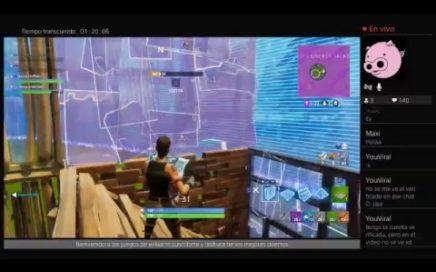 Jugando nuevo modo de juego fortnite con subs