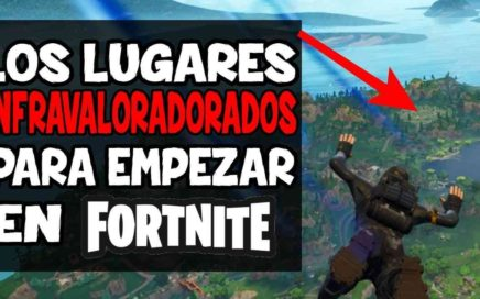 Los Lugares con MEJOR LOOT en FORTNITE | GUÍA FORTNITE BATTLE ROYALE