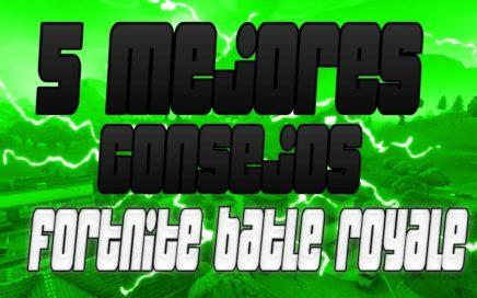 MEJORES CONSEJOS FORTNITE BATLLE ROYALE (PARA PRINCIPIANTES )