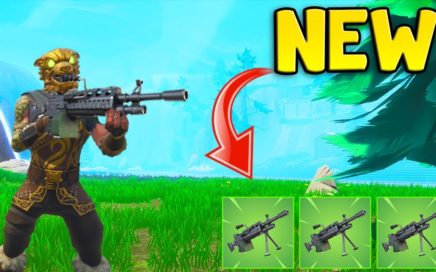 *NEW* LIGHT MACHINE WEAPON  (Fortnite Battle Royale) Fortnite Funny Fails & Best Moments #33