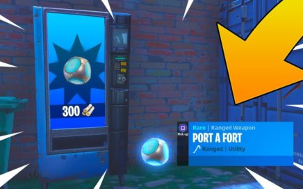 NEW PORT A FORT GAMEPLAY! INSANE NEW FORTNITE UPDATE! Fortnite Battle Royale