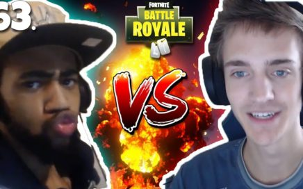 NINJA VS DAEQUAN 1vs1 FULL FIGHT! BOTH POV+REACTION! Fortnite Competitive Gameplay! Fortnite Clutch!