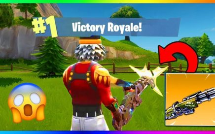 NOUVELLE ARME LEGENDAIRE GAMEPLAY + TOP 1 sur Fortnite Battle Royale !