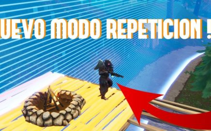NUEVO MODO REPETICION EN FORTNITE !!! MODO CINE FORTNITE BATTLE ROYALE !!!