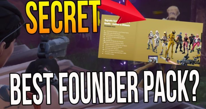 """SECRET ULTIMATE EDITION PACK! """"WHAT IS THE BEST FOUNDER PACK?"""" (Fortnite Gameplay)"""
