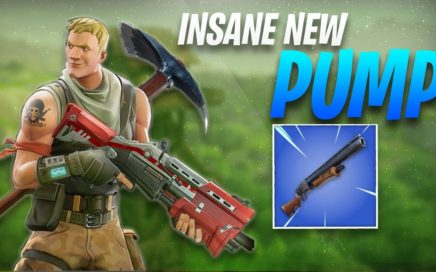 THE NEW BLUE PUMP?! (FORTNITE GAMEPLAY)