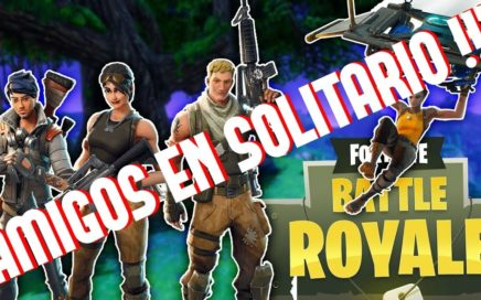 TRUCO FORTNITE !!! JUGAR CON AMIGOS EN MODO SOLITARIO !!! TRUCOS FORTNITE BATTLE ROYALE !!!