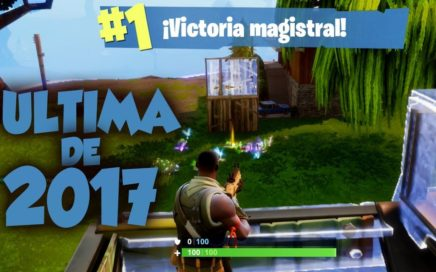 Ultima VICTORIA de 2017 - FORTNITE