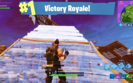 Winning a Victory Royale Against a Faster Builder (PS4 Pro) Fortnite Gameplay