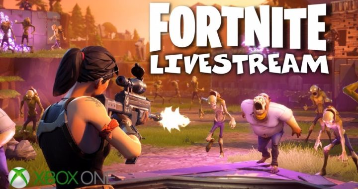 Base Building Zombie Smashing Goodness! - Fortnite Gameplay- Xbox One - Livestream (1)