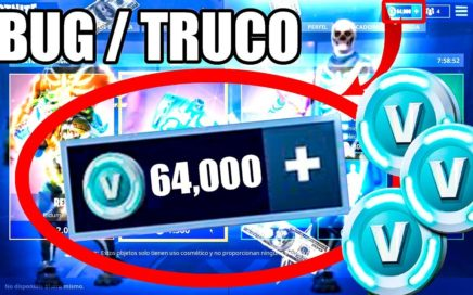 BUG / TRUCO - COMO CONSEGUIR PaVos GRATIS - 2018 - FORTNITE - FUNCIONA - PS4 XBOX ONE Y PC