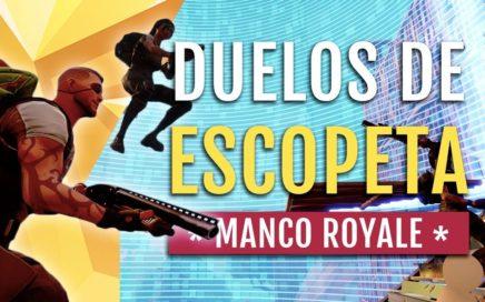 CÓMO GANAR DUELOS DE ESCOPETAS EN CONSOLAS EN FORTNITE |MANCO ROYALE