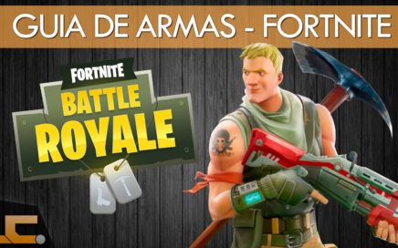 Como jogar Fortnite / Guia de armas para iniciantes