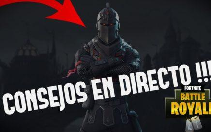 CONSEJOS AVANZADOS DE FORTNITE !! PREGUNTAD! - ROAD TO 25.000 SUBS !! -  30% SQUAD WINRATE +400 WINS