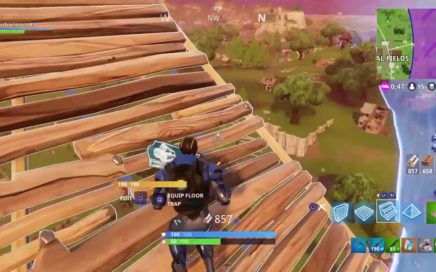Crazy kill with one  HP!!!  (Fortnite Gameplay 1)