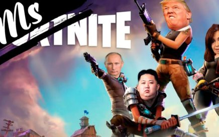 ¡DONALD TRUMP juega FORTNITE!