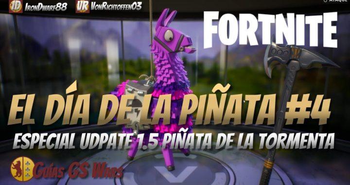 Especial Llama de la Tormenta (Parche 1.5) de FORTNITE | EL DÍA DE LA LLAMA PIÑATA #4